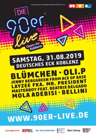 90er Live - Koblenz Deutsches Eck