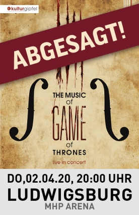 The Music of Game of Thrones - Live in concert Tour 2020